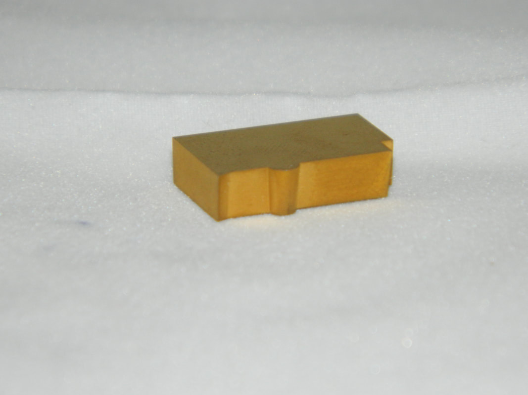 Tungsten Carbide TiN coated EXCEL Form Insert.